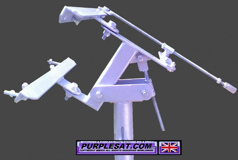 POLARMOUNTS FOR 1M-1.8M SATELLITE DISHES PURPLESAT