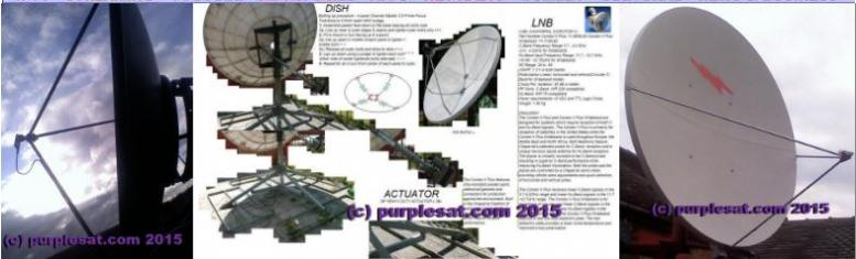 big dish installations