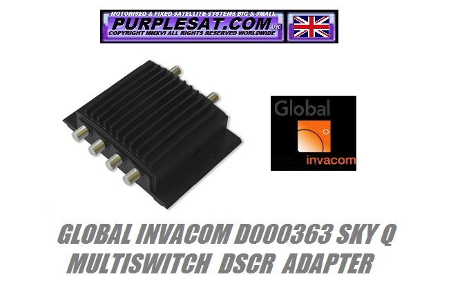 Global Invacom Sky Q adapter purplesat