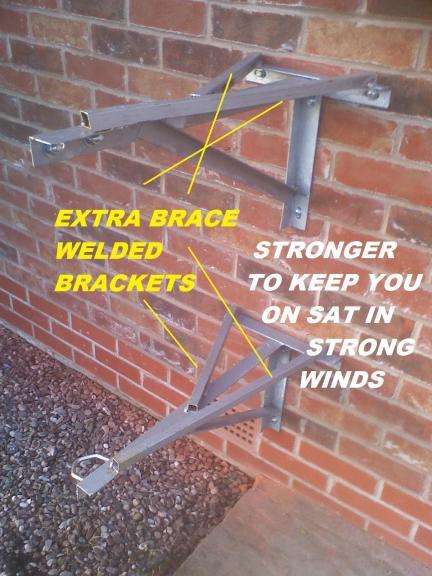 Brace welded KKs