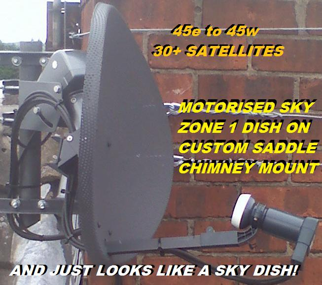 motorised sky dish on chimney 2