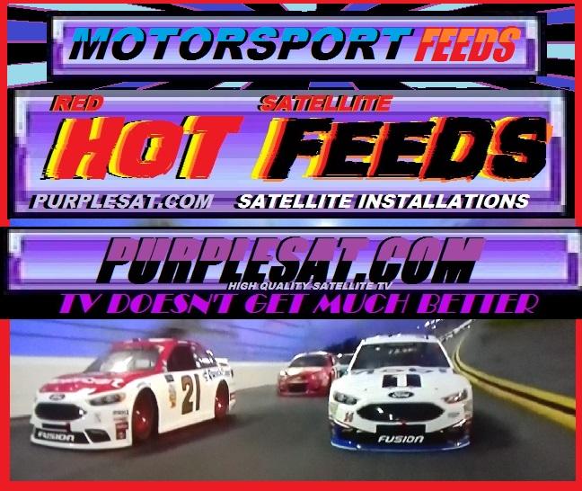 NASCAR FEEDS - PURPLESAT