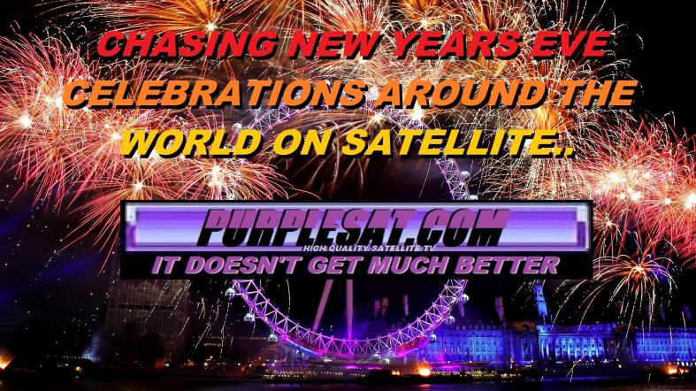 NEW YEAR'S EVE CELEBRATIONS ON SATELLITE