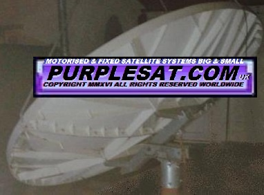 purplesat CHANNEL MASTER 2.4M INVERTED TO LOWER PROFILE
