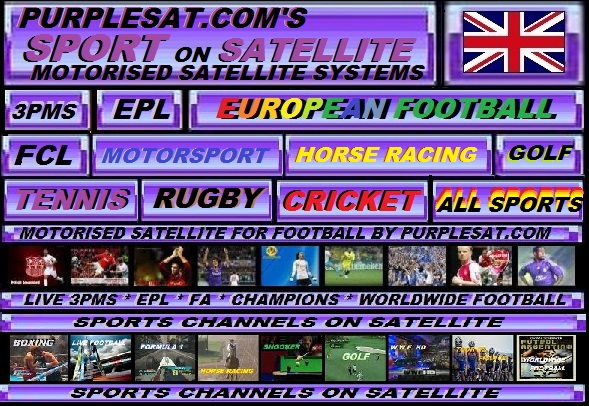 PURPLESAT.COM'S SPORTS ON SATELLITE