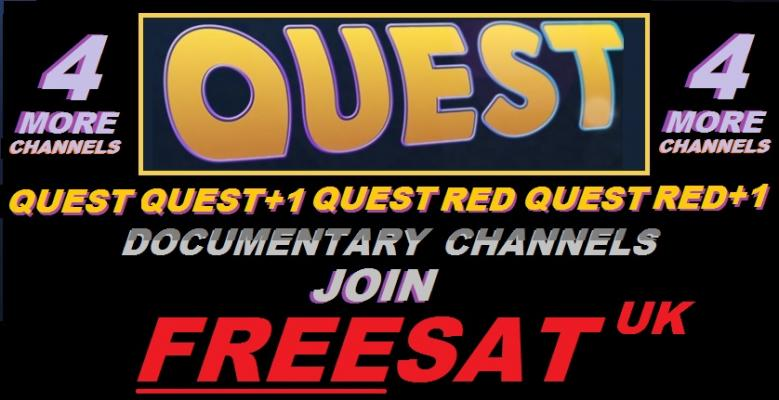 QUEST & QUEST RED JOIN FREESAT