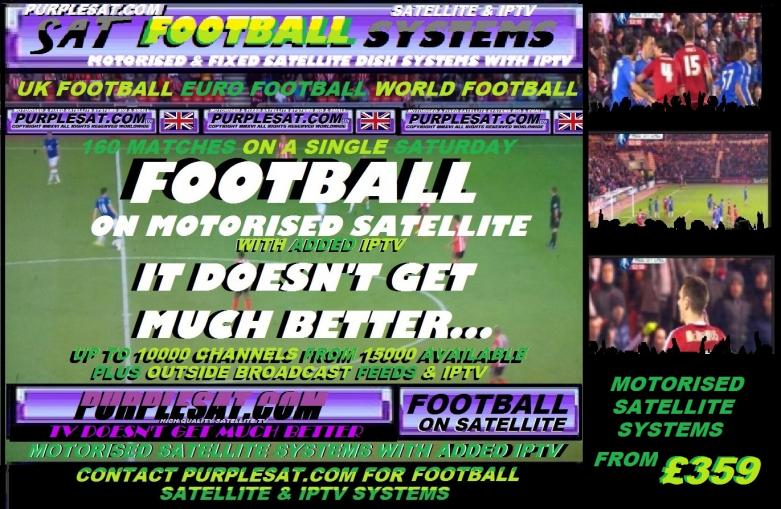FOOTBALL ON SATELLITE - PURPLESAT