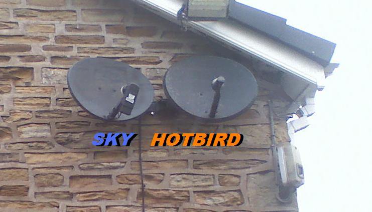 Sky/Freesat & Hotbird on sky dishes