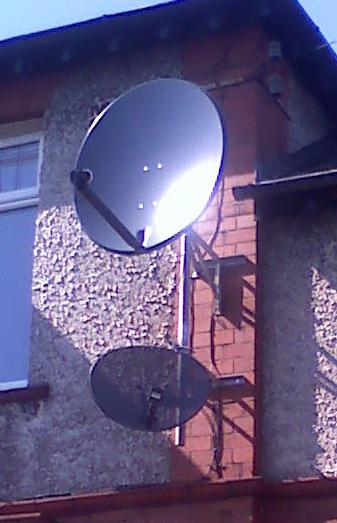 88 motorised & sky dish st hel