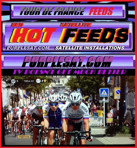 TOUR DE FRANCE FEEDS  PURPLESAT